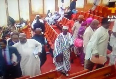 AMAECHI CONFIRMATION DRAMA...NIGERIANS TELL PDP SENATORS TO HIDE THEIR HEADS IN SHAME!